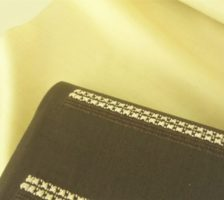 結城紬と染帯展